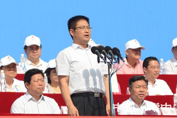 汉中市第六届运动会隆重开幕 王建军宣布开幕 方红卫致辞