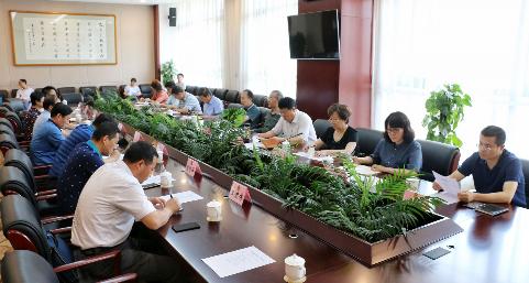 省政协文史和学习委员会召开传承和弘扬南梁精神座谈会